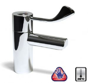 TMV3 Safe Touch Long Lever Mixer Tap - 140 & 190mm Lever Lengths